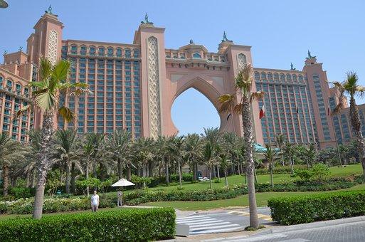 U A E, Dubai, Hotel, Atlantis The Palm, Holiday