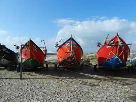 Boats, Castelo Do Neiva, Portugal