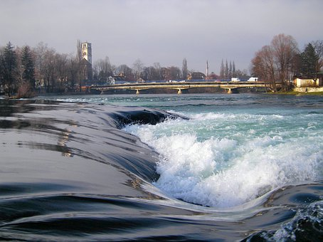 Bihac, Bosnia, Bridge, Architecture, River, Water, Town