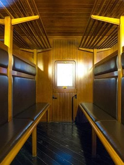 Cabin, Wagon, Compartment, Train, Travel, Old, Car