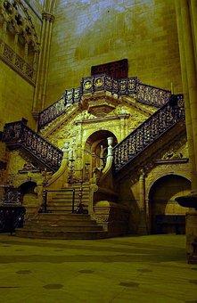 Burgos, Spain, Cathedral, Church, Faith, Religion