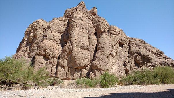 Box Canyon, Mountain Of Rock, Desert In California