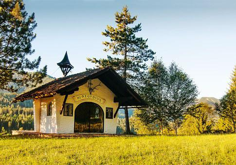 Chapel, Sanctuary, Easter Kogel, Sankt ägyd Am Neuwalde