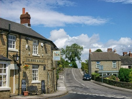 Thurgoland, England, Great Britain, Village, Buildings