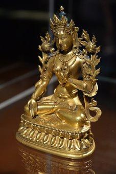 Buddha Amitayus, Gilded Bronze, Sculpture, Buddhism