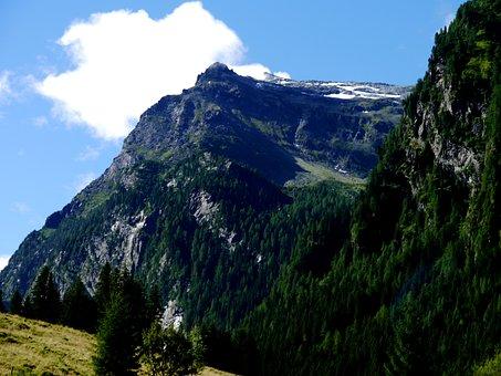 Alpine, Felber Pass, Mountains, Landscape, Panorama