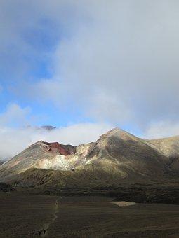 New Zealand, Landscape, Tongariro, Crossing, Mountain