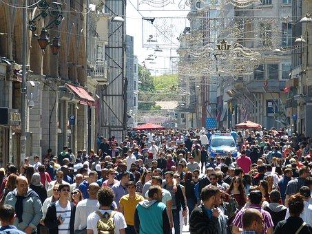 Istanbul, Turkey, Road, Human, Quantitative, Mass