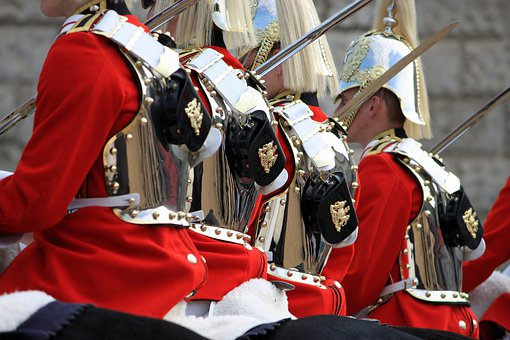 Household Cavalry, Mounted, Soldiers, Cavalry, London