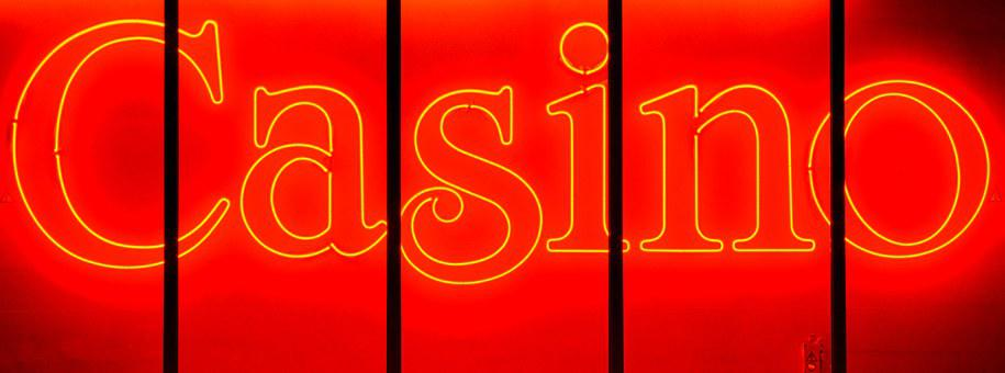 Casino, Neon Sign, Neon, Letters, Lights