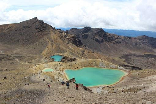 Tongariro, New Zealand, Landscape, Park, Tourism