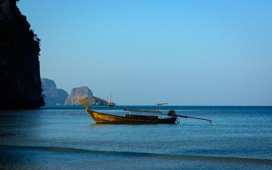Blue, Sea, Ocean, Water, Cliff, Ocean View, Beautiful
