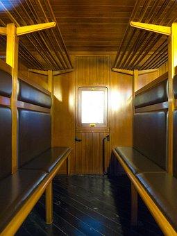 Cabin, Wagon, Compartment, Train, Travel, Old, Car