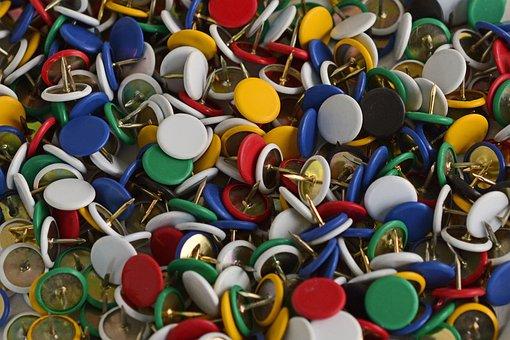 Nails, Purposes, Tacks, Colorful, Pin, Pointed