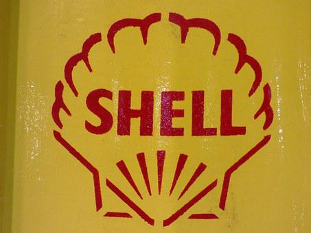 Logo, Yellow, Shell, Fuel, Petrol