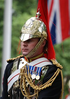 Uniform, Household, Cavalry, Soldier, England, Close-up