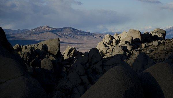 Landscape, Boulders, Scenic, Sky, Stone, Buttermilks