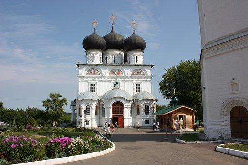 Russia, Kazan, Raifovsky Monastery, Tatarstan, Church
