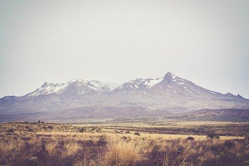 Tongariro National Park, New Zealand, Mountains