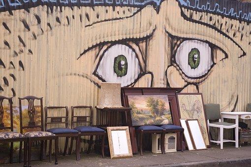 Graffiti, Street Art, Outdoors Art, Out Of Home, Wall