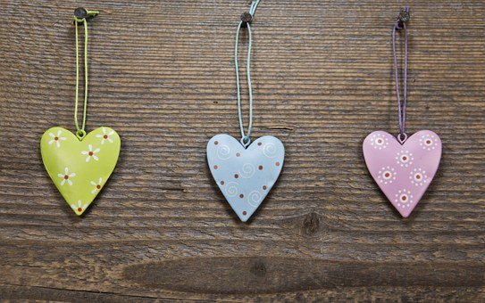 Heart, Decoration, Love, Luck, Romantic, Abstract