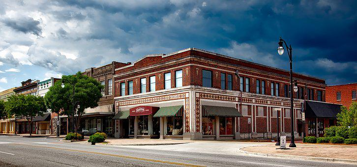 Gadsden, Alabama, Small Towns, Panorama, Townscape