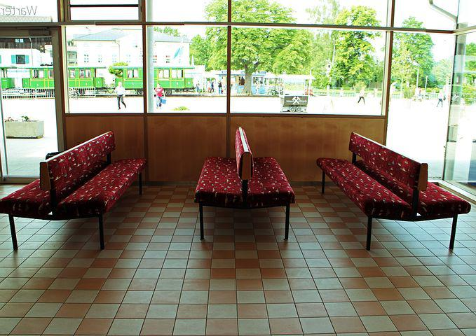 Waiting Room, Waiting Benches, Bank, Benches, Wait