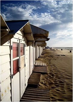Beach, Sand, Sea, Vacations, Beach Shack, Boat House