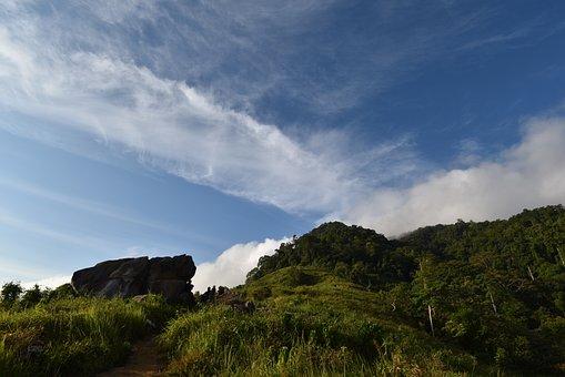 Hill, Bengkayang, Bukit, Jamur, Indonesia, Landscape