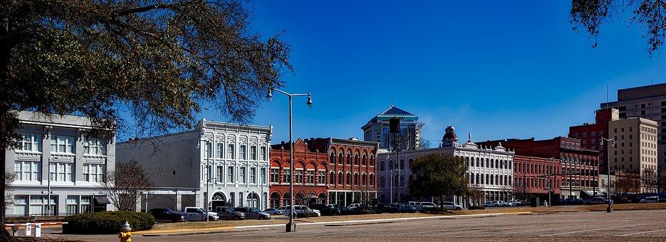 Montgomery, Alabama, Panorama, City, Cities, Urban