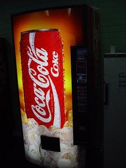 Machine, Vending, Drinks