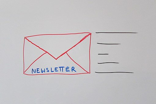 Newsletter, Email, Electronic Mail, Advertising, Sketch