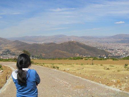 Girl, Teen, Bolivia, Christ Of Concordia
