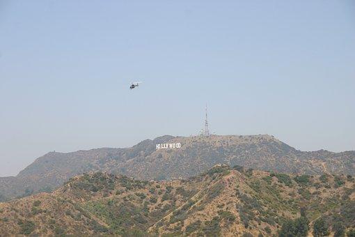 Hollywood, California, Usa, Hollywood Sign, Los Angeles
