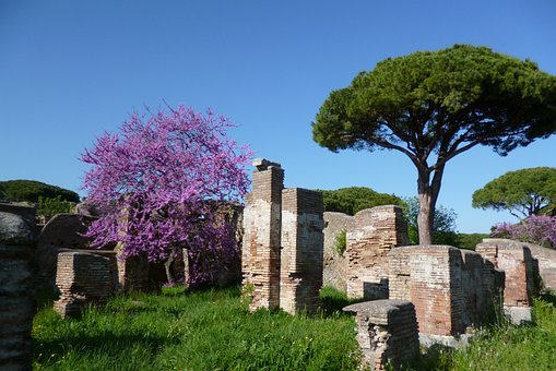 Ostia Antica, Italy, Ruins, History, Ancient Times