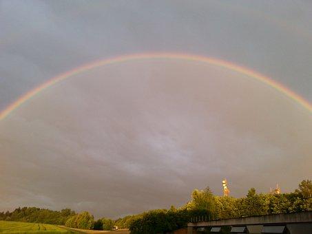 Rainbow, Double Rainbow, Natuschauspiel