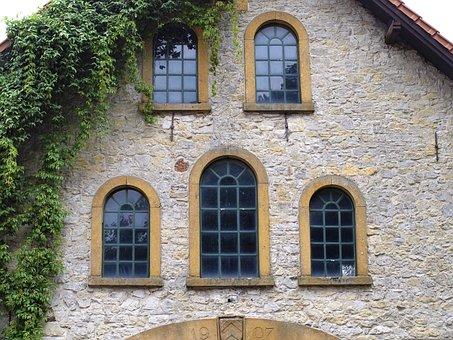 Window, Romanesque, Old, Masonry, Brick, Historically