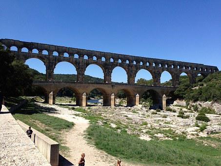 Pont Du Gard, France, Monument