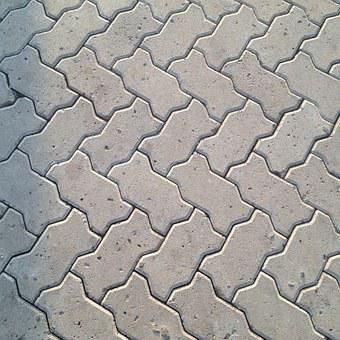 Pavement, Block, Street, Road, Path, Walk, Walkway