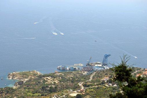 Lily, Concordia, Sea, Island, Costa, Ship, Cruise