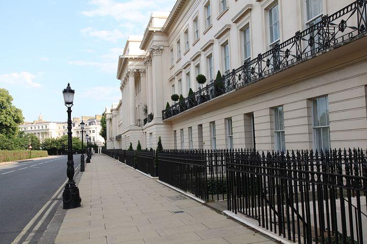 Neoclassical, Terrace, Regent's Park, Architecture