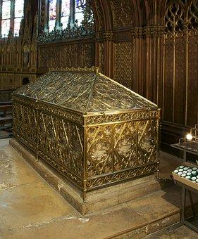 Tomb, Saint Genevieve, Church, St Etienne, Paris