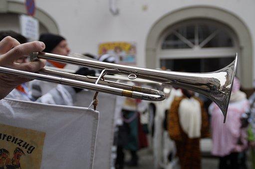 Fanfare Train, Trumpet, Strassenfasnet, Fools Jump