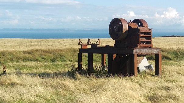 Lundy Island, North Devon, United Kingdom, Fiels