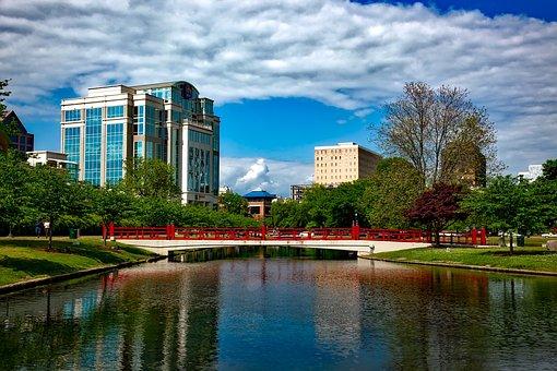 Huntsville, Alabama, City, Cities, Urban, Skyline