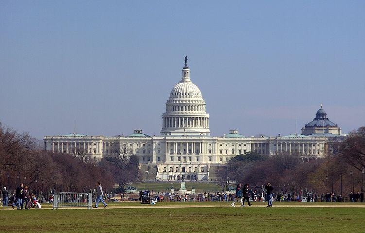 Washington, Usa, United States Capitol, Architecture