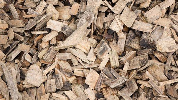 Sawdust, Spehne, Wood, Holzspehne, Brown