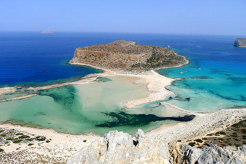 Beach, Booked, Beautiful Beaches, Crete, Balos Beach
