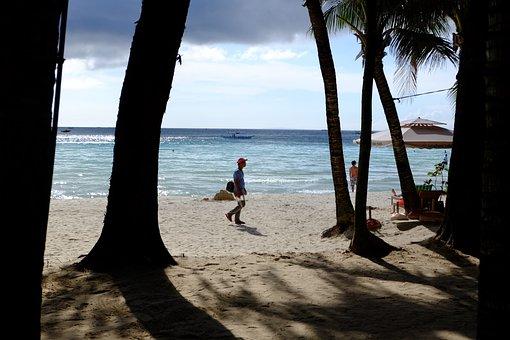 White Beach, Boracay, Sky