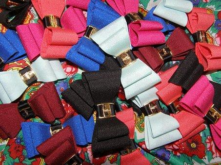 Bows, Colors, Cufflinks, Cockapoo